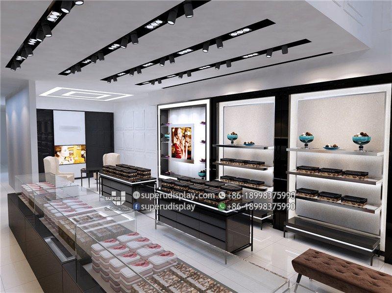 Ru0026J Chocolate Shop Design, Store Interior Display Design Retail Shop  Decoration
